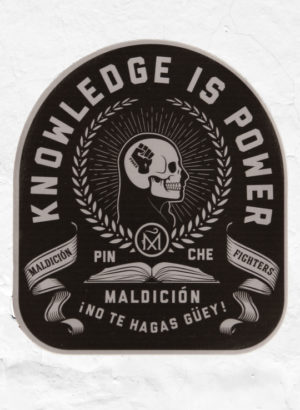Knowledge_Is_Power_Mujer_sticker_Full