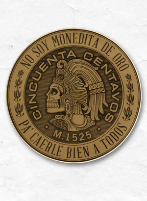 Monedita_Cuautemoc_sticker_shop