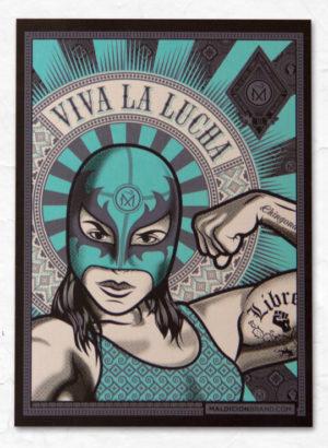 VivaLaLuchaMujer_Sticker