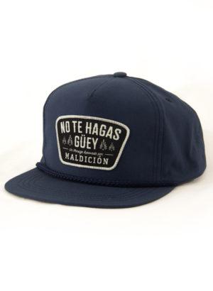 No Te Hagas Guey Poplin Navy