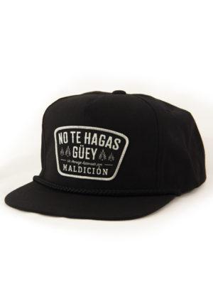 No Te Hagas Guey Poplin black