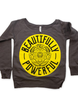 Beautifully Powerful_Sweatshirt_DarkGray